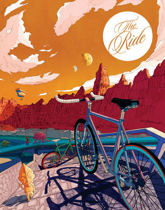 Shan Jiang illustrations_The Ride Journal_7