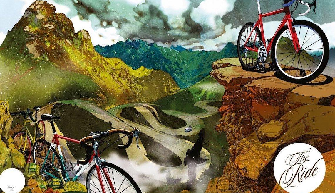 Le illustrazioni di Shan Jiang per The Ride Journal