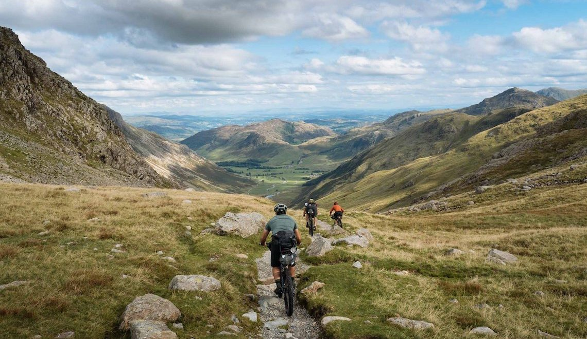 Due giorni in bikepacking nel Lake District National Park