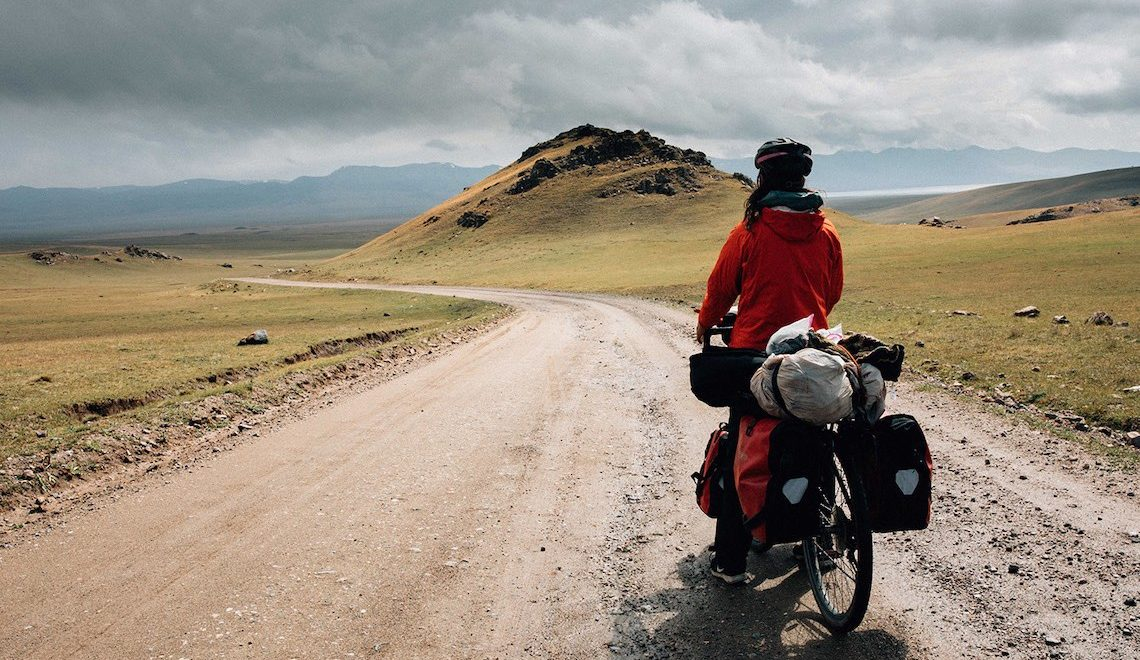 A Silk Road Bike Ride. Fotografie di Jeremy Wilson