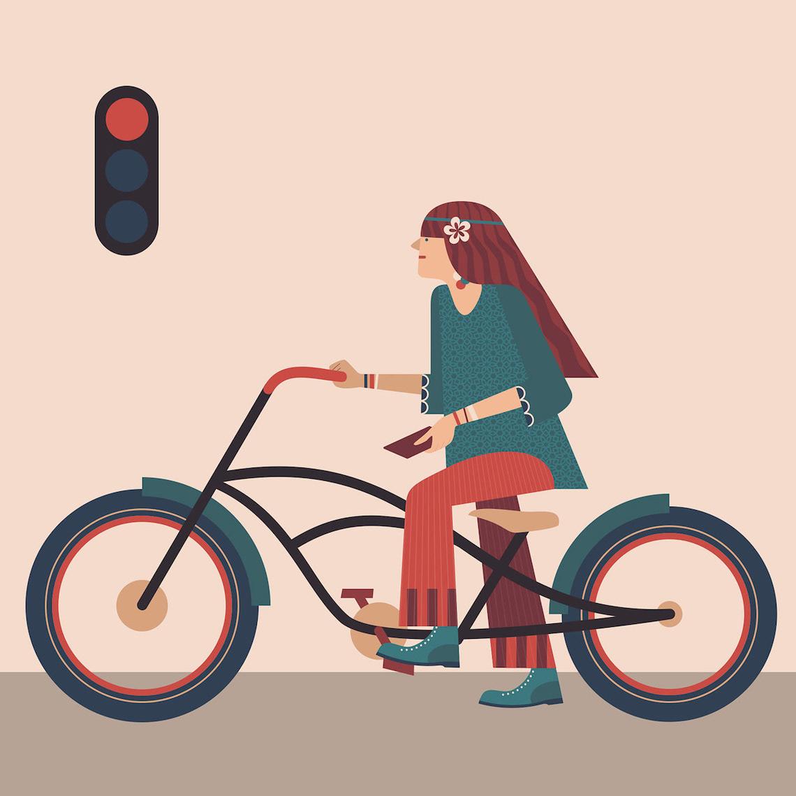 Jim Boum bicycle_illustrations_4