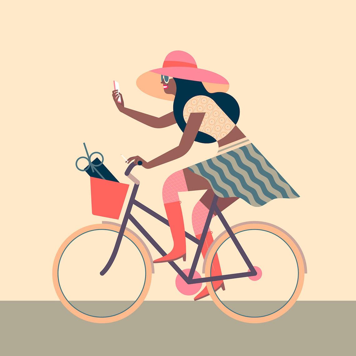 Jim Boum bicycle_illustrations_5