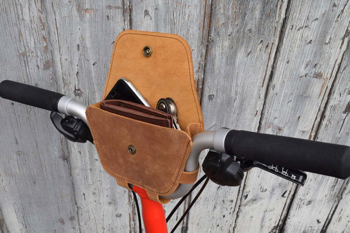 Souma Leather Topaz borsa Brompton_2