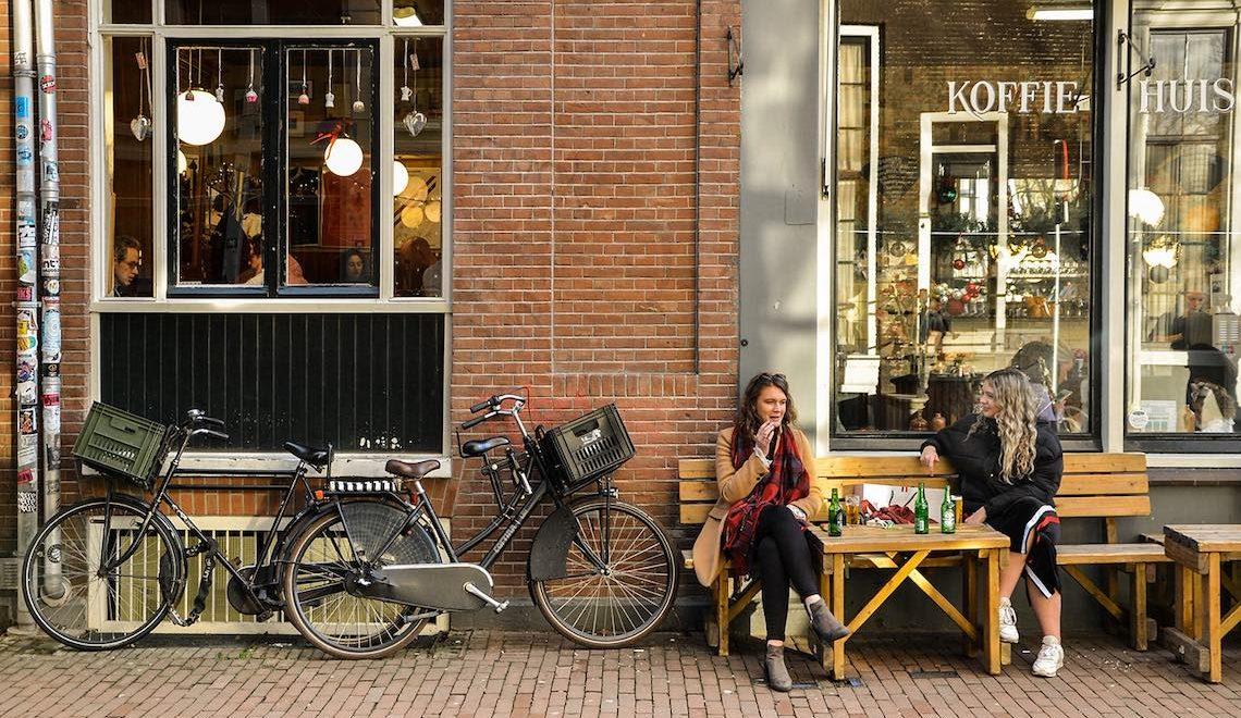Amsterdam e biciclette. Fotografie di Ceicillia Dita