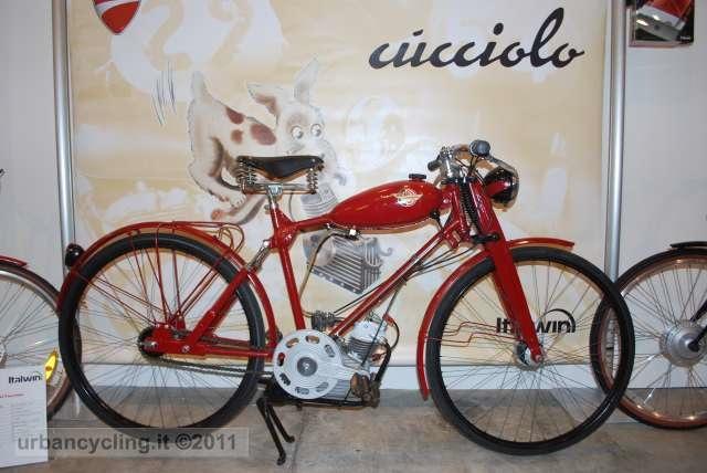 Cucciolo La Bici Elettrica Ducati By Italwin Urbancyclingit