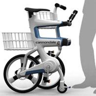 La bicicletta diventa carrello della spesa
