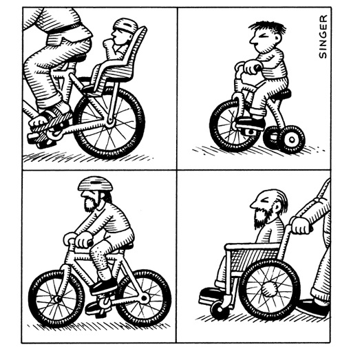 Andy Singer bici cartoons n.4