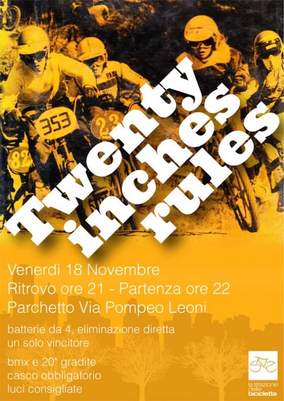 Twenty inches rules, al BFF Milano