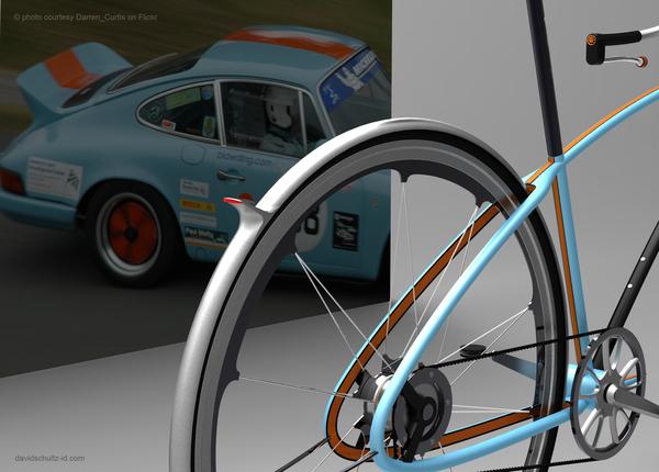 Porsche concept bike. Designer David Schultz