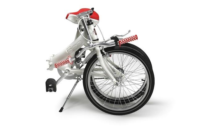 Fiat 500 Pop, la bicicletta pieghevole