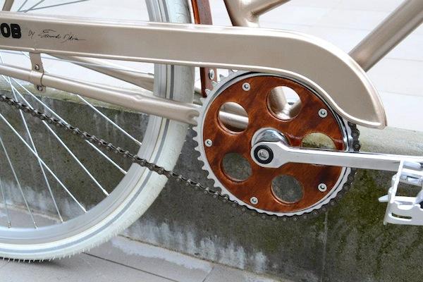 Bici donna custom, dal Portogallo