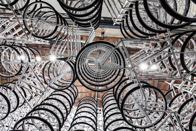 Stacked, by Ai Weiwei in mostra alla Galleria Continua