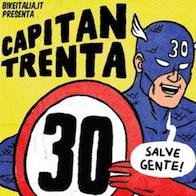 Capitan Trenta, il nuovo fumetto del paladino (trash) di pedoni e ciclisti