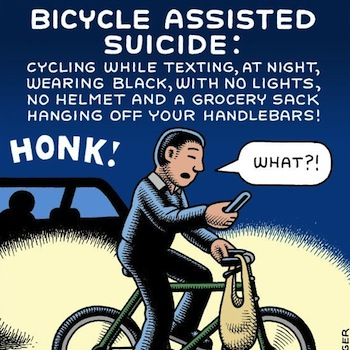 Andy Singer bici cartoons n.6