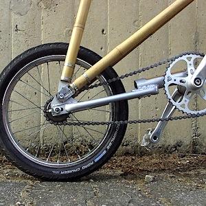 Bici in bamboo by Michael Verhaeren