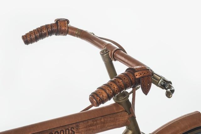 Esclusiva bicicletta rivestita in pelle by Will