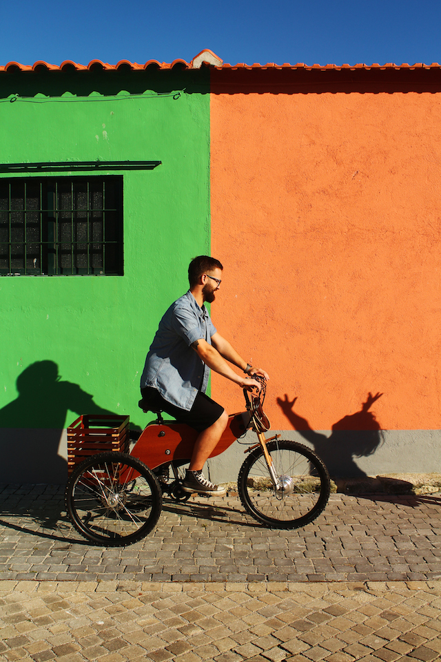 RAIOOO. Il concept per un nuovo modo di pedalare in citta'