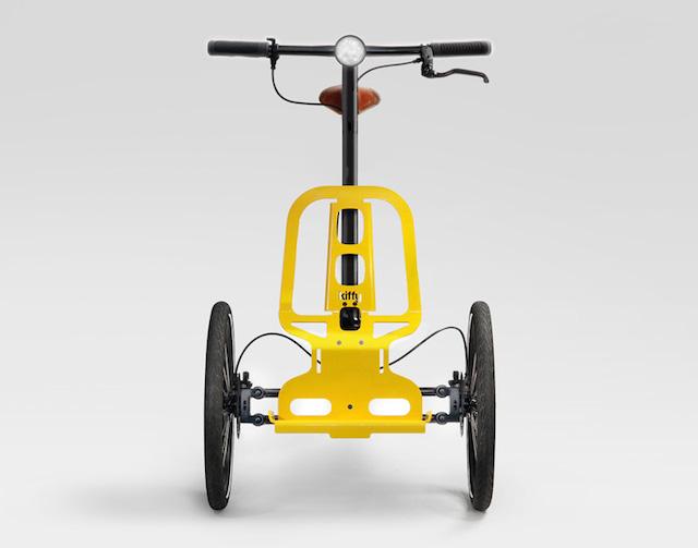 Kiffy, il nuovo triciclo urbano multiuso