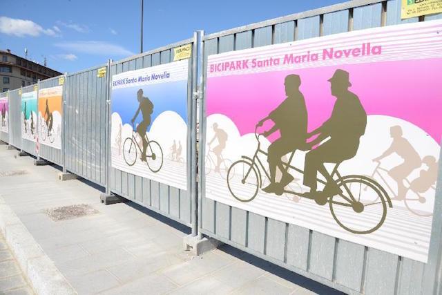 Bicipark di Santa Maria Novella a Firenze