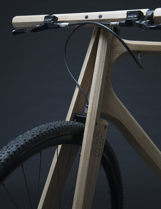 The Wooden Bike by Paul Timmer