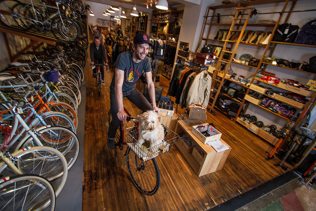 Cool Bike Shops. Huckleberry Bicycles