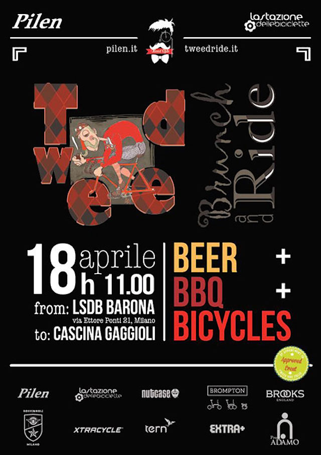 Tweed Brunch and Ride a Milano