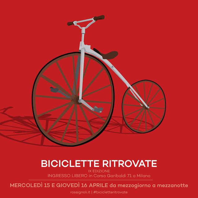 Biciclette Ritrovate. A Milano by Rossignoli