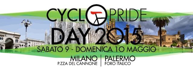 Cyclopride 2015 a Milano e Palermo