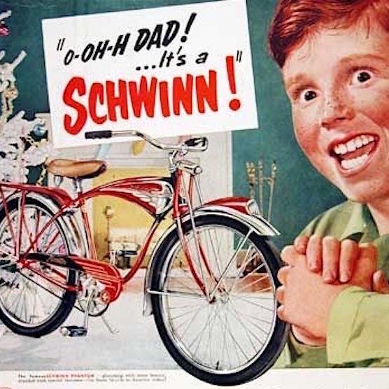 Schwinn. I manifesti vintage per il Natale