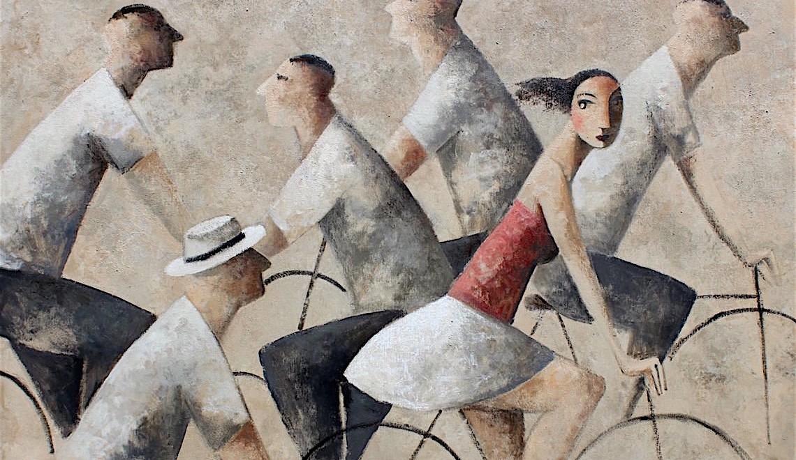 Didier Lourenço. Arte e donne in bicicletta