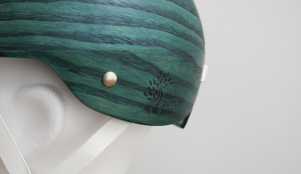"Da Cellutech, arriva il casco ecologico ""made in forest"""