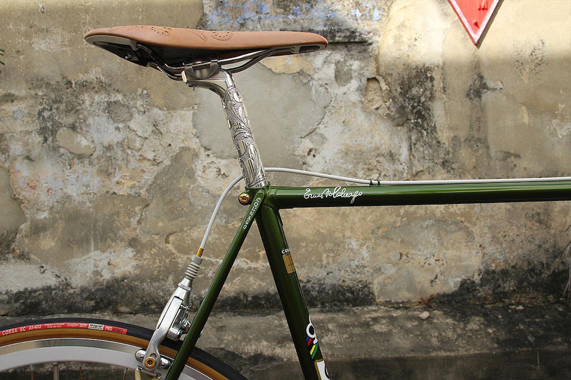 Colnago Mexico 1975. Restyling da Singapore