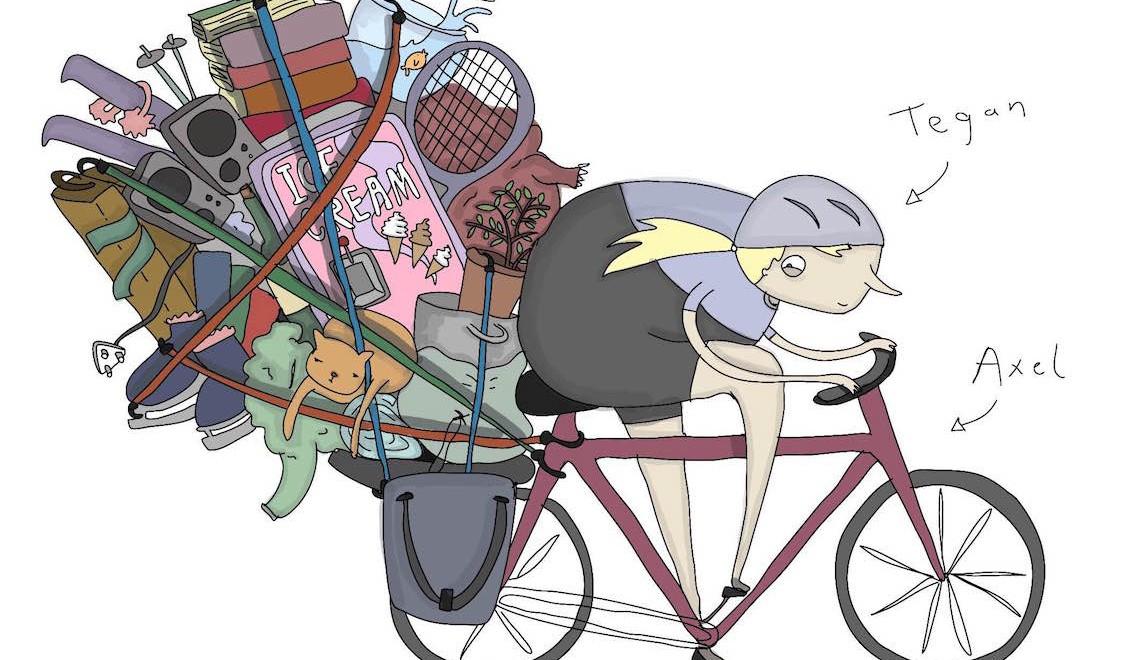 5 cose essenziali per il cicloturismo! by Tegan
