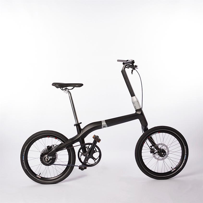 Bicicletta Leggera Pieghevole.Frederic Boonen Bicicletta Pieghevole In Carbonio