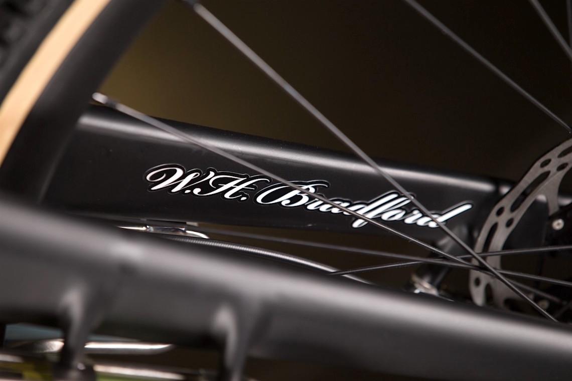 W.H. Bradford all-road bike. Nahbs 2016