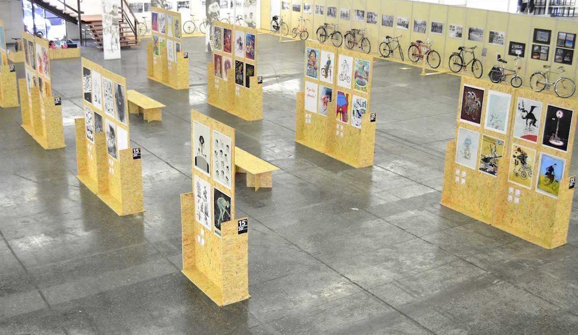 BikeArt. Poster e bici in mostra dalla Grecia