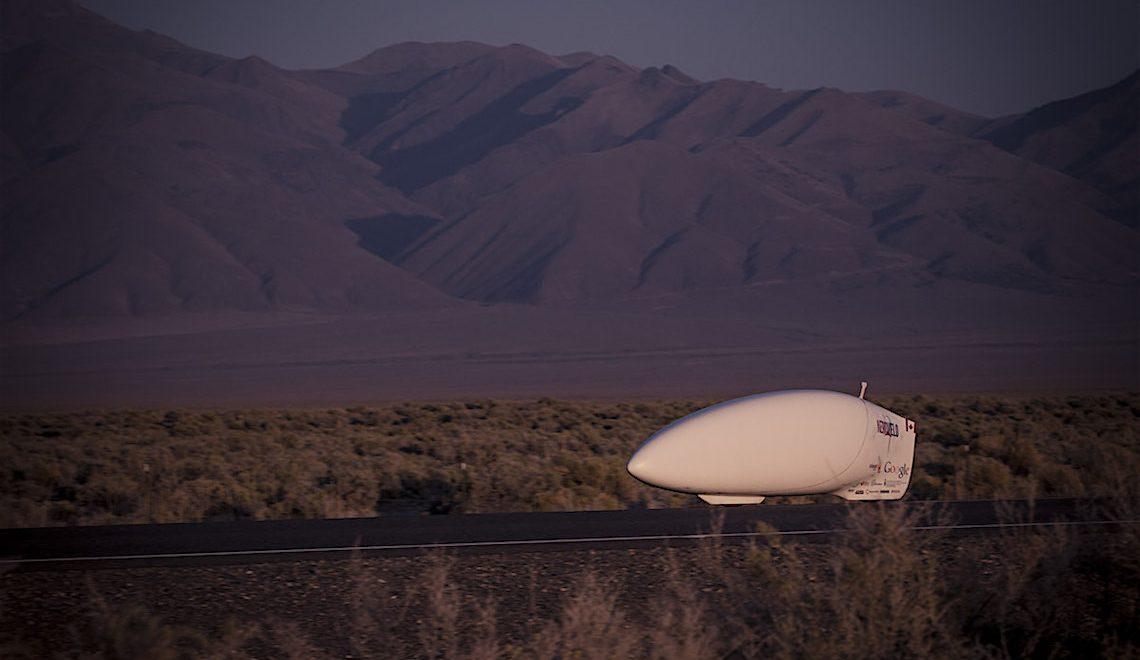 Aerovelo progetto ETA. Ancora un record di velocità