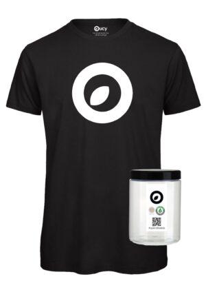 #opendressride_t-shirt_Black_000_Logo_ bianco_barattolo