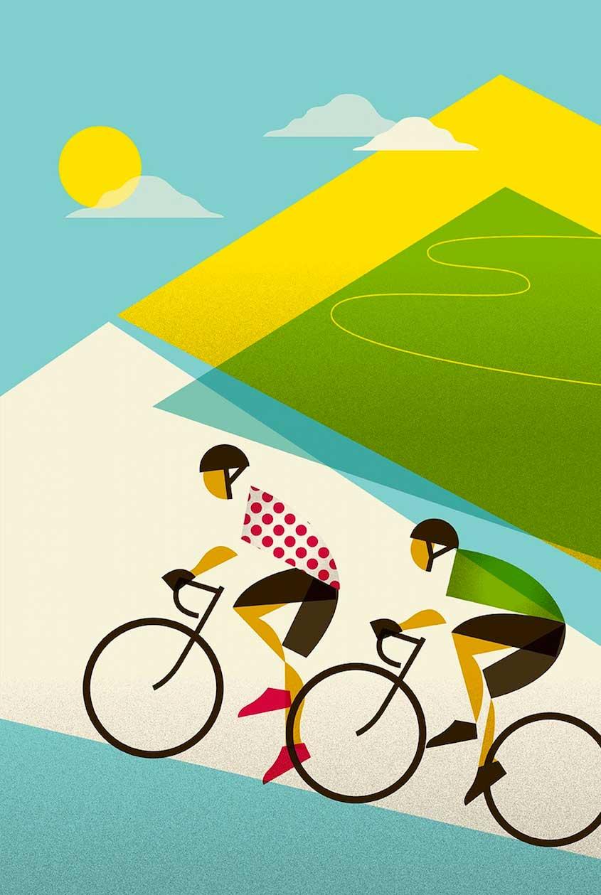 Eleanor Grosch illustrations_urbancycling_5