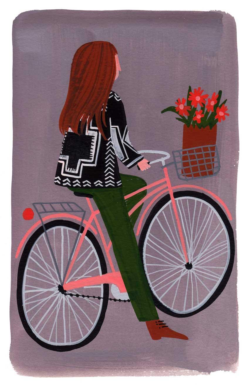 Ellen Surrey illustrations_urbancycling_3