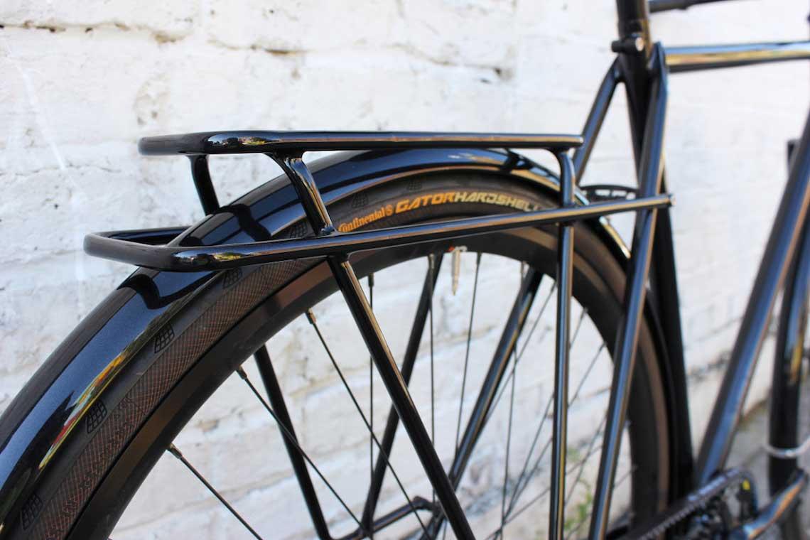 Patrick's stealthy town bike. Donhou Bicycles