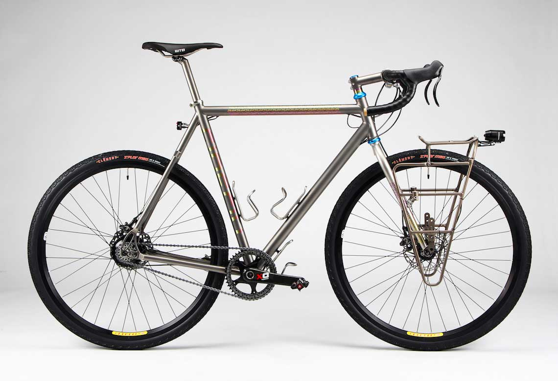 Titanium Touring FF-340. Bikeporn by Firefly Bicycles