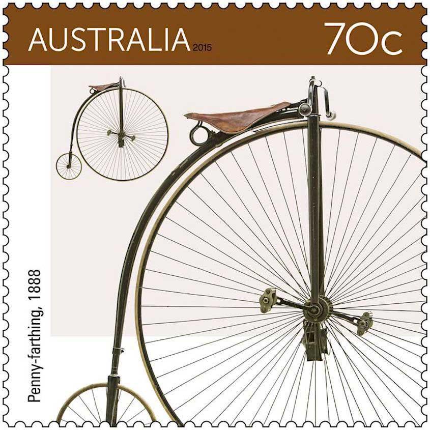 Poste Australiane francobolli biciclette_urbancycling_1
