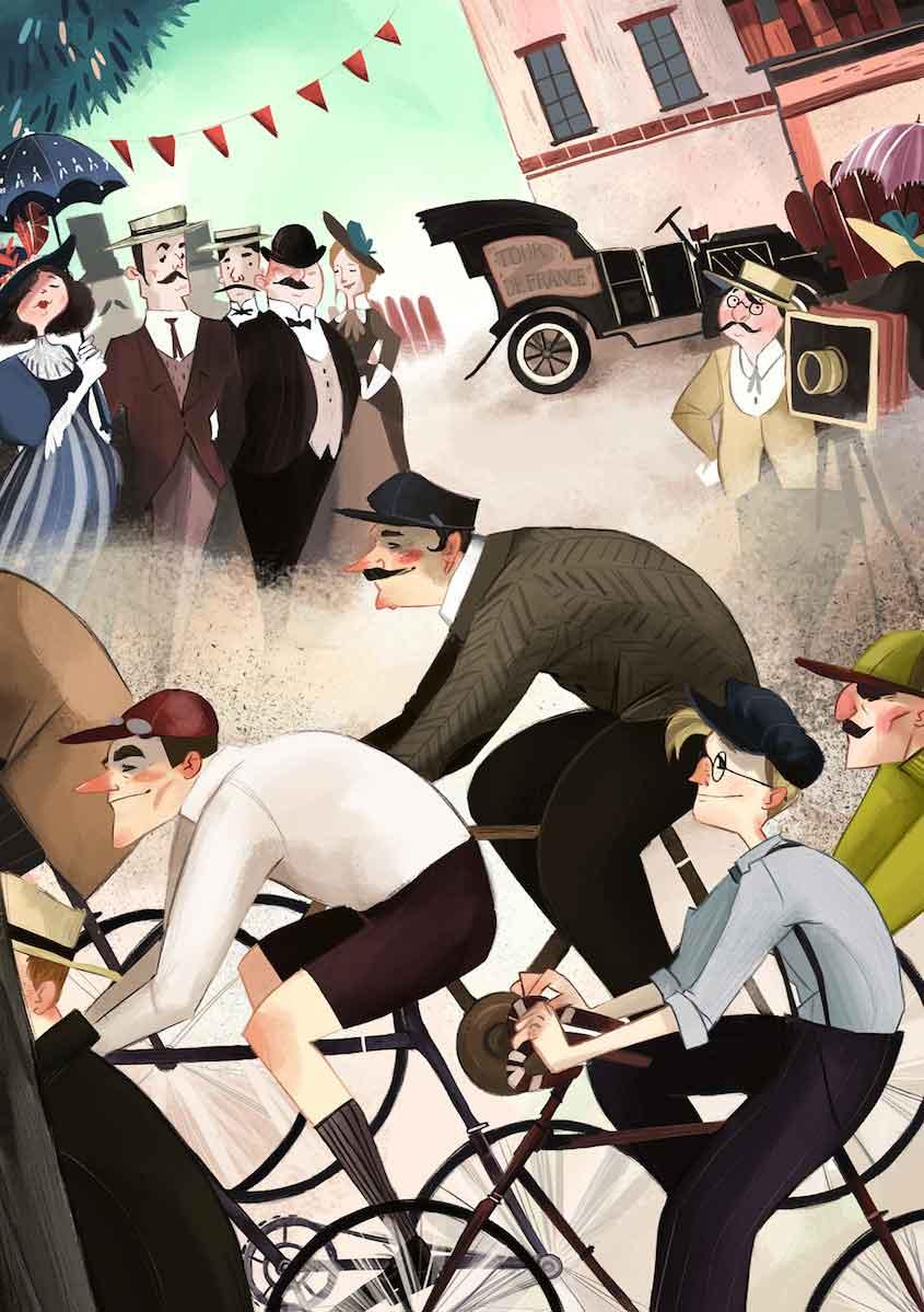 Clarissa Corradin illustrations_urbancycling_4