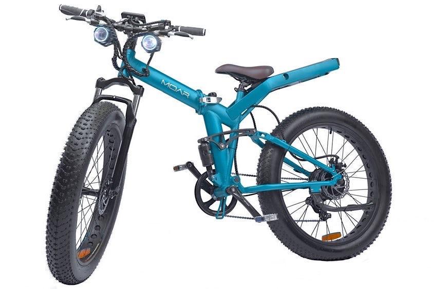 MOAR fat bike elettrica_pieghevole_1