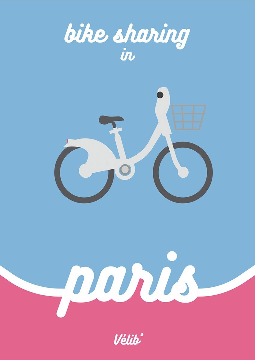 Bike Sharing illustrations_urbancycling_3