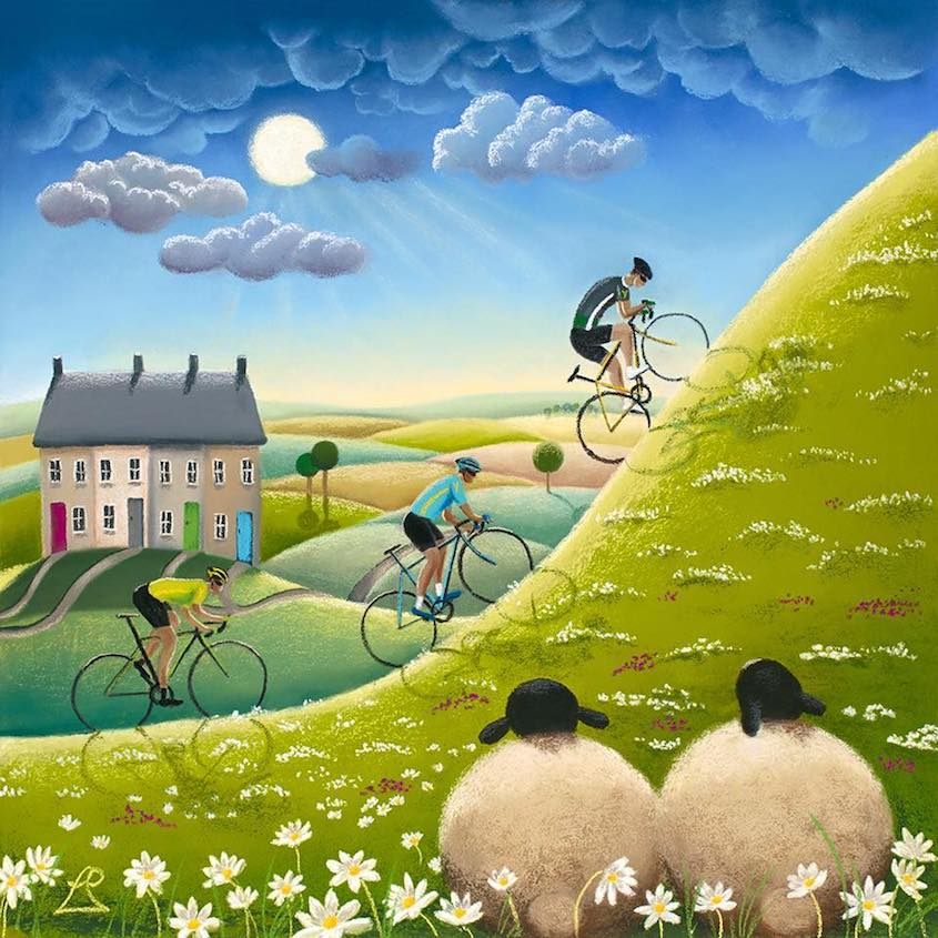 Lucy Pittaway Cycling_Art_urbancycling_6