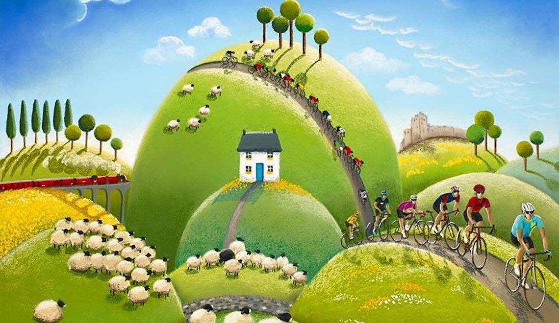 Lucy Pittaway Cycling_Art_urbancycling_E