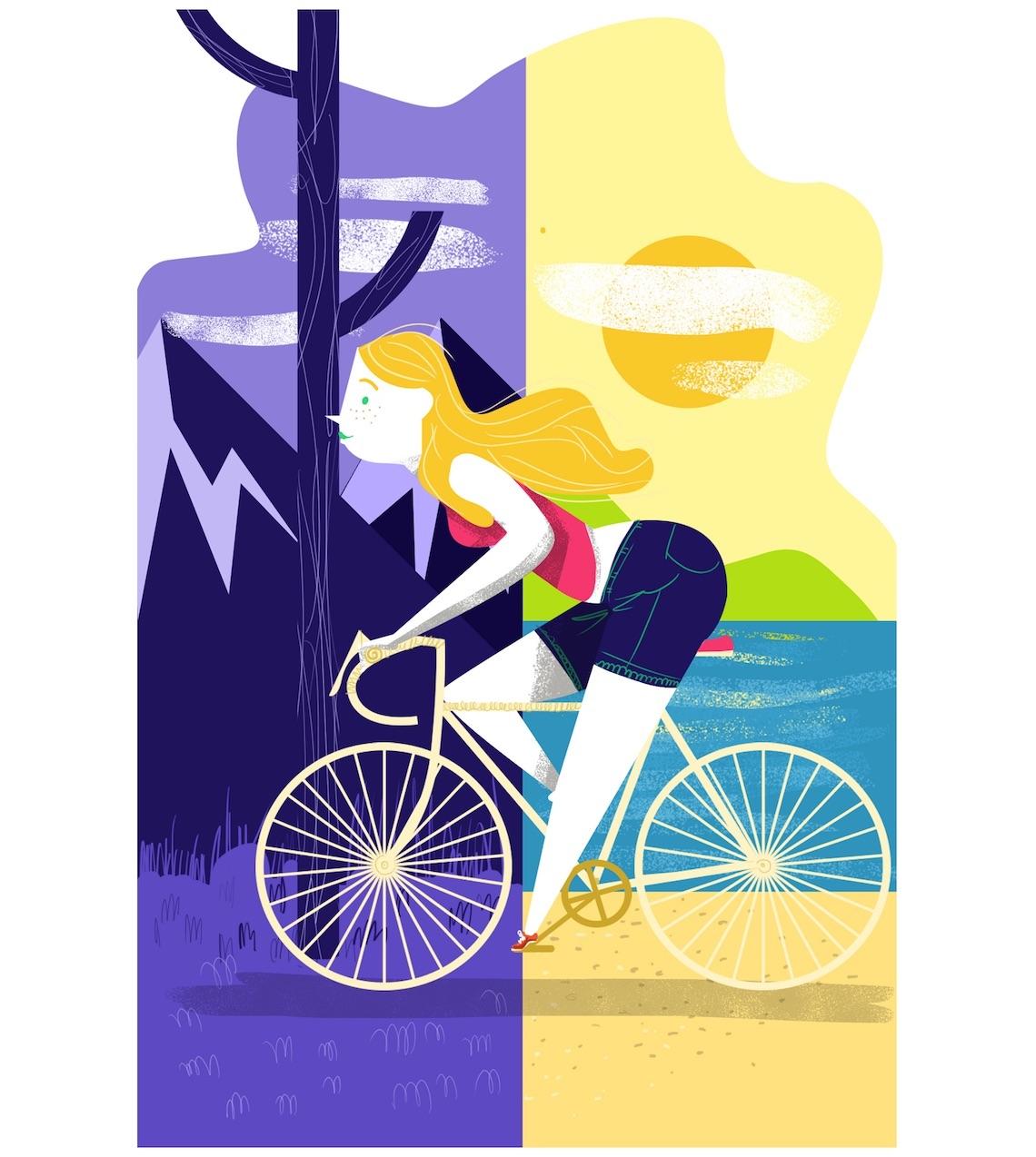 Guillo Castellanos Illustrazioni_Bike_Mèxico_urbancycling_3