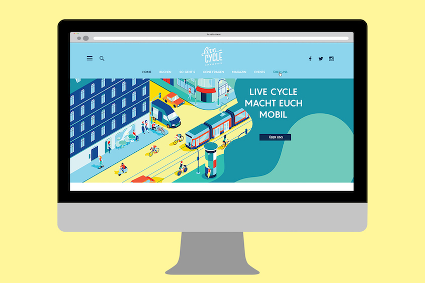 LiveCycle illustrazioni_branding_urbancycling_2